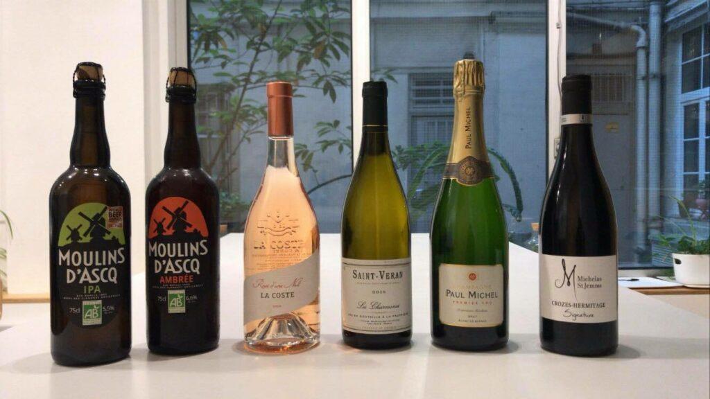 Selection de vins - bières